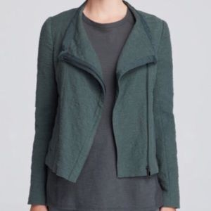 Vince Asymmetric Crop Jacket
